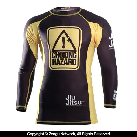 "Рашгард 93 Brand ""Choking Hazard"" 7/8 Sleeve Rashguard"