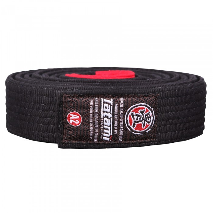 Пояс Tatami Adult BJJ Rank Belt (Black)