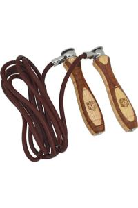 Скакалка RDX Skiping Rope Leather Two Color SRX-L1 коричневый