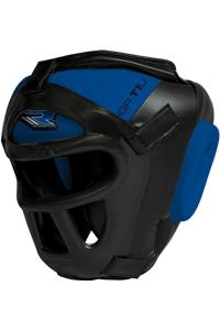 Шлем RDX Boxing Head Guard Protector GRILL HGX-T1 Blue