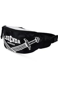 Сумка поясная Legenda Swords Black/White